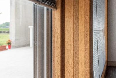 Serramento alluminio-legno